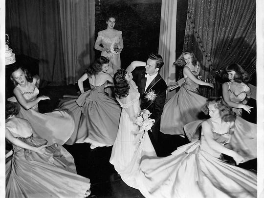 "An archives photo showing the 1946 production of ""Lady"