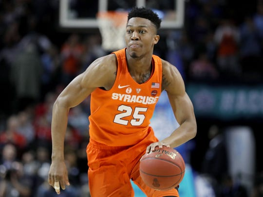 Tyus Battle is averaging 19.8 points for Syracuse.