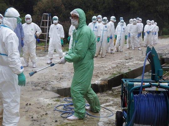 AP Japan Bird Flu