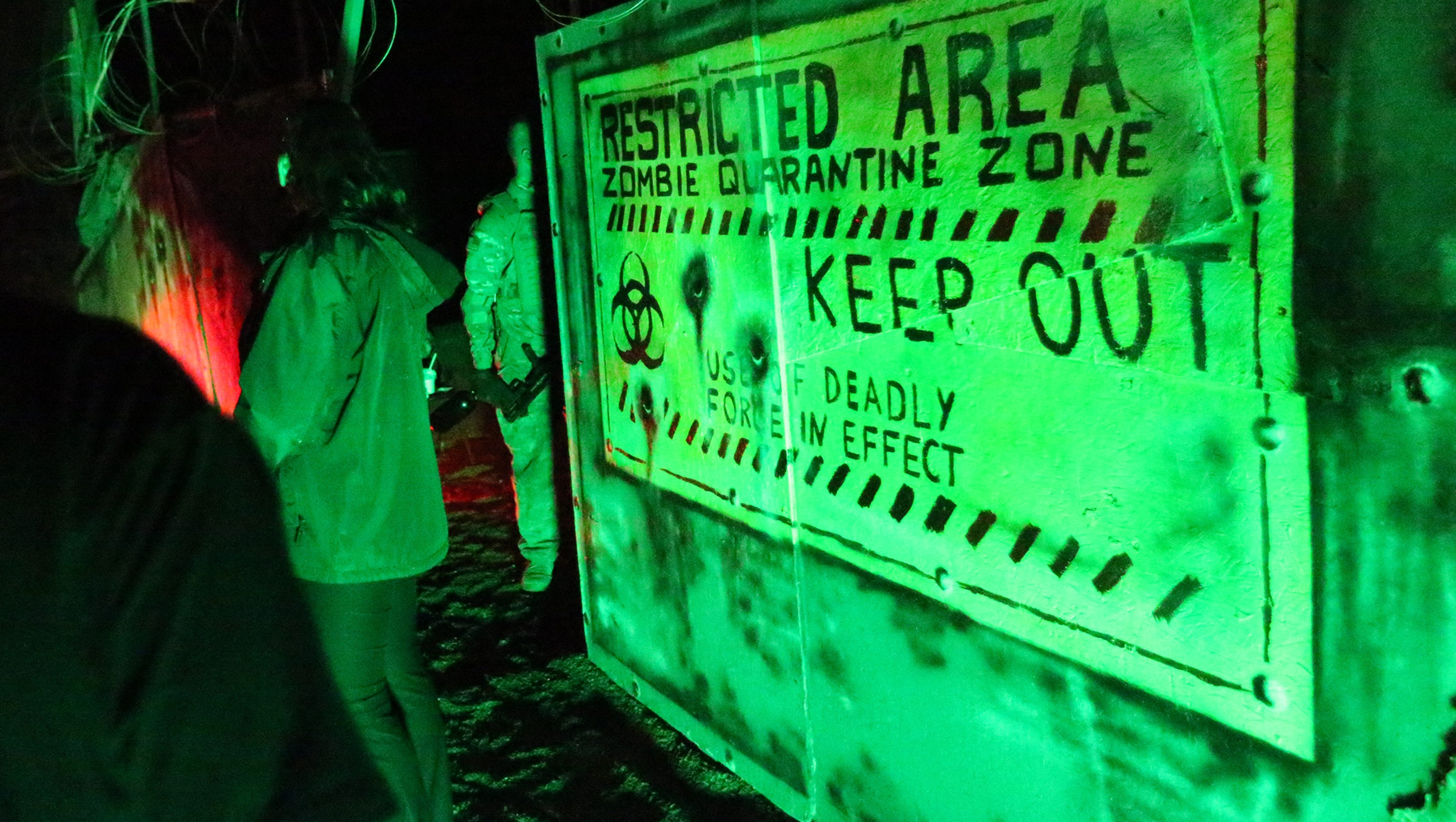 annual klaq haunted house features ufo theme