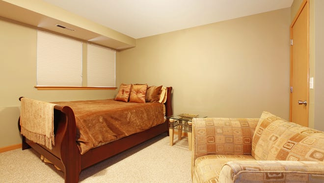 Basement bedrooms must have windows large enough to allow someone to escape in case of a fire.