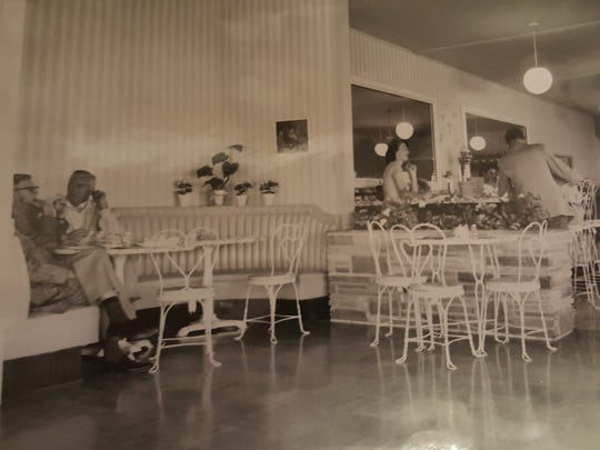 The interior of Sugar Bowl in old town Scottsdale.