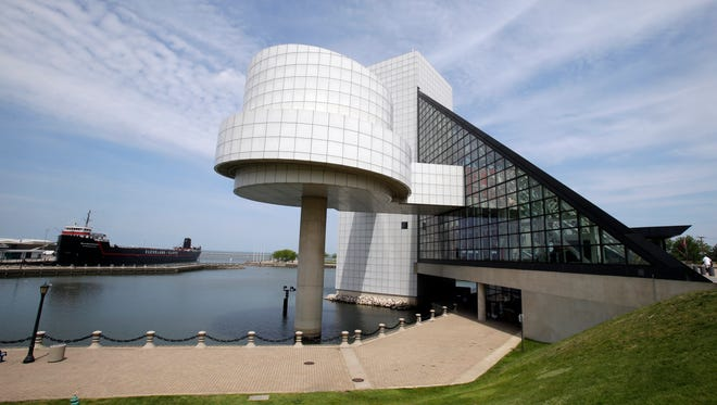 The Rock and Roll Hall of Fame in Cleveland on May 21, 2013.