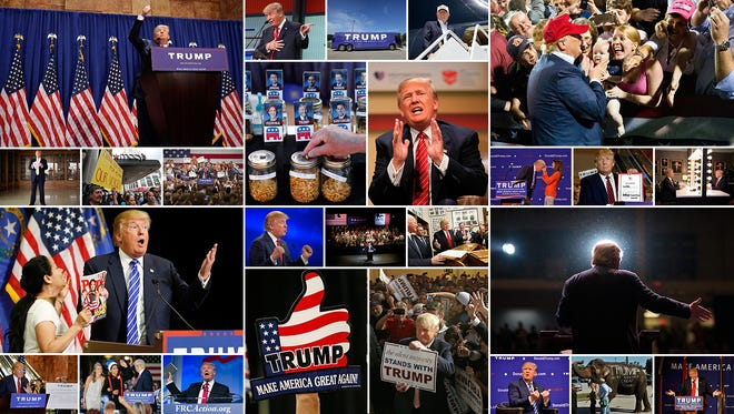 Dec. 16 marks the six-month point of Donald Trump's campaign.