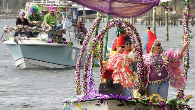 The Pensacola Mardi Gras Kick-off Parade happens at 5:30 Friday.