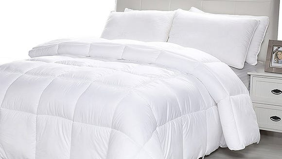 Snuggle up in the luxury of a new comforter.