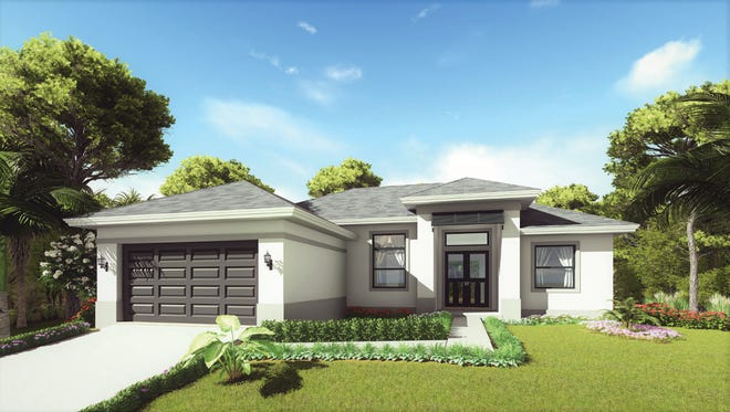 The Osprey is a new design by Nova Homes of South Florida.