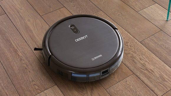 Ask Alexa to clean your house and the Deebot N79S will
