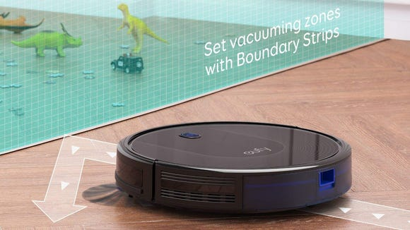 The newest eufy RoboVac can finally see invisible barriers.