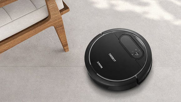 Tell Alexa to clean and this little guy will get to