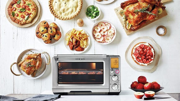 This one oven can cook, bake, toast, and even air fry.