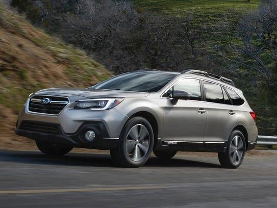 The 2018 Subaru Outback, one of the original SUV alternatives.