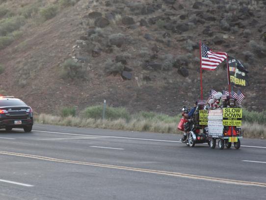 Vietnam veteran Raymond Black hits the road May 14