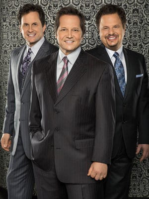 The Booth Brothers perform Tuesday and Wednesday at the Southwest Gospel Music Festival.