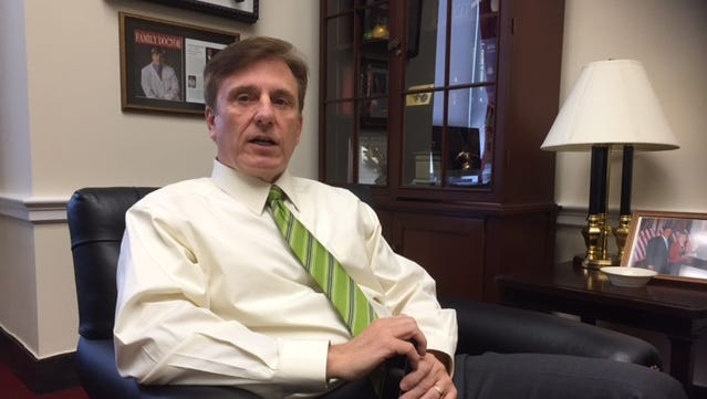 Five Republicans have declared for the House seat represented by GOP Rep. John Fleming, who is running for the U.S. Senate, shown here in his Washington office.