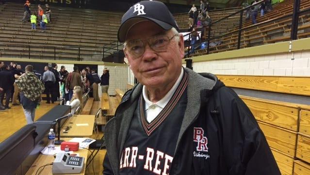 Barr-Reeve's longtime scorekeeper, Albert Kavanaugh.