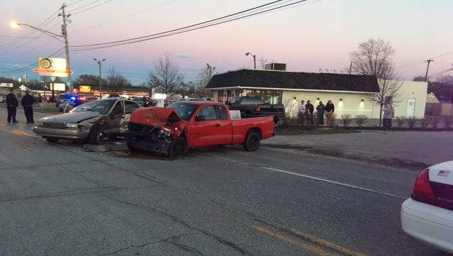 One person died following a two-vehicle crash near the intersection of Holt Road and West Washington Street on March 7, 2017.