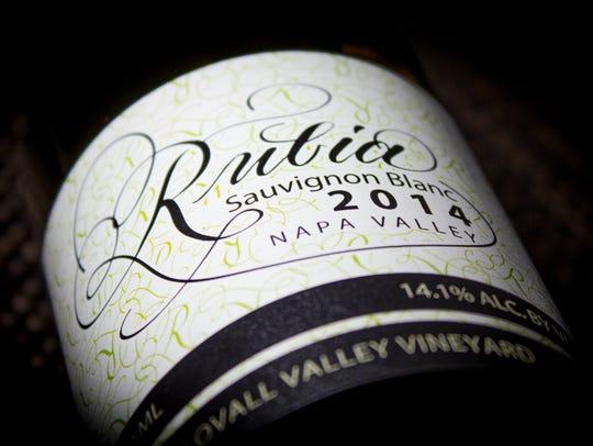 Rubia Wine Cellar's sauvignon blanc wine won a bronze