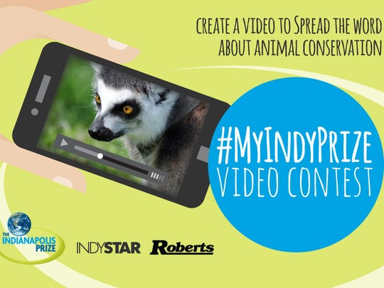 The #MyIndyPrize student video contest helped spread the word about animal conservation.