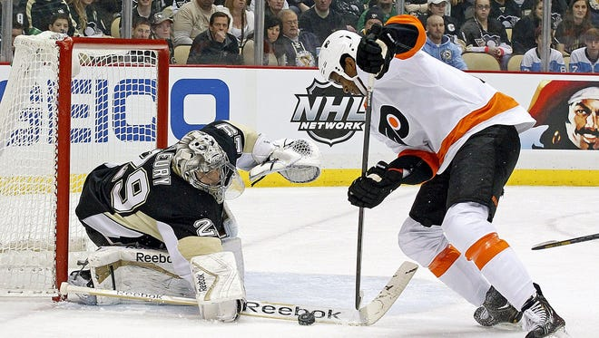 The Flyers won in their last trip to Pittsburgh.