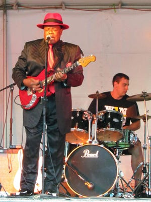 Norman Sylvester will bring his blues to Boon's on April 7.