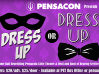 Front Row: Dress up or cosplay at Pensacon's charity ball