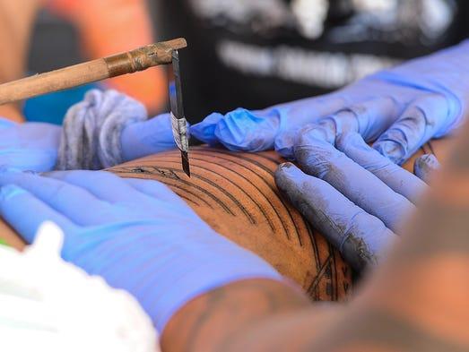 Independent State of Samoa master tattoo artist Su'a