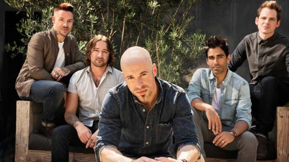 Daughtry will appear at Harrah's Cherokee Event Center in November.