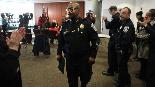 A file photo of Rochester Police Chief James Sheppard.