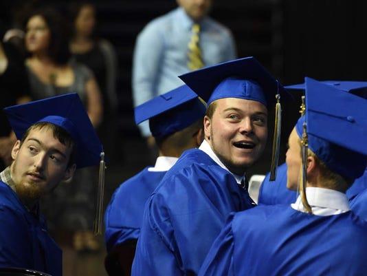Reed High School Graduation
