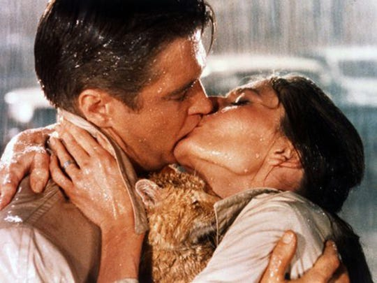 """Breakfast at Tiffany's"" starring Audrey Hepburn and George Peppard."