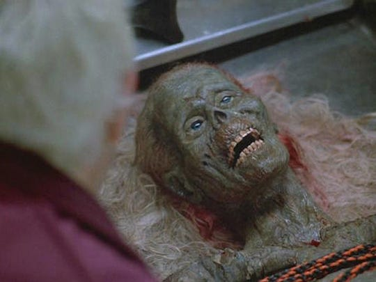 """Considering the title of 1985's """"The Return of the Living Dead,""""  we're guessing all is not as it seems in this image."""