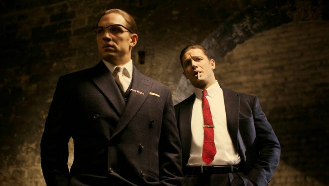 """Tom Hardy is fantastic as twin gangsters in """"Legensd,"""" but the story doesn't have much going for it."""