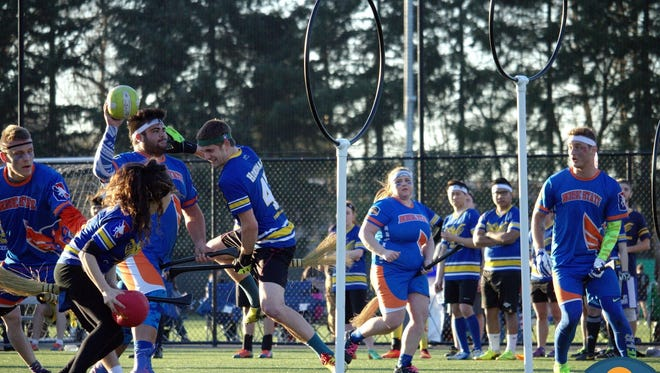 Ten teams will battle it out at the  Northwest Regional Quidditch Championship 8 a.m. to 6 p.m. Saturday, Feb. 6, and 8 a.m. to 2 p.m. Sunday, Feb. 7, at the Capital Futbol Club Soccer Complex, 5201 State St.