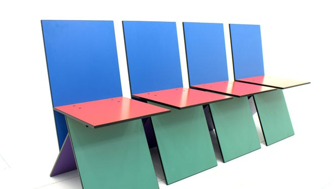 These Verner Panton Vilbert chairs are going for up to several hundred dollars a piece online.