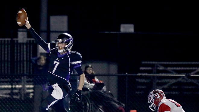 CHCA's Danny Vanatsky finished with three total touchdowns in a loss to Madison.