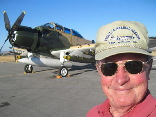 George Marrett, who flew a Douglas A-1 Skyraider in Vietnam, will be the featured guest speaker at the annual Thunder Over the Coconino at Valle Airport.