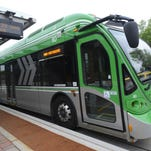 Transfort's MAX bus rapid-transit system has been in place for one year, and the route expects to increase riderships and revenue by 50 percent by the end of 2015.