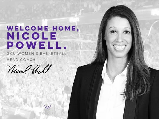 Nicole Powell was named the head womens basketball