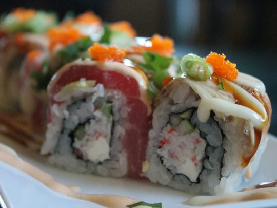 Island Sushi has more than 40 rolls on its menu.
