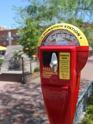 Rapid City Police and Destination Rapid City partnered to install giving meters downtown in an attempt to curb aggressive panhandling.