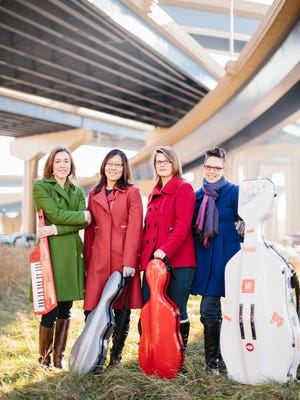 The Riso Quartet will perform a free recital at the Waelderhaus at 2 p.m. on Sunday, September 18.