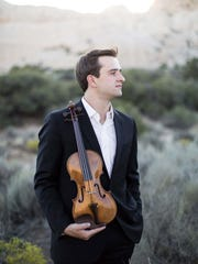 "Violin virtuoso William Hagen is the guest for a date-night concert entitled ""Love is in the Air"" Saturday, Feb. 10."