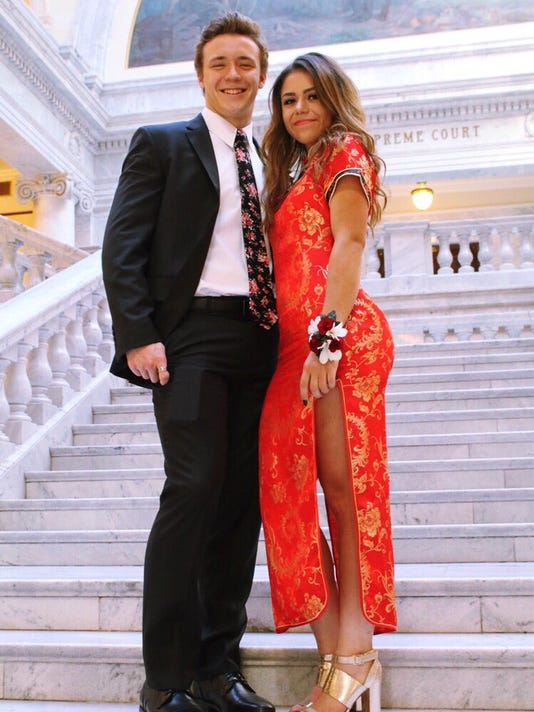 Teen Gets Bashed Goes Viral For Wearing Chinese Dress To Prom