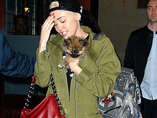 Miley Cyrus and Moonie