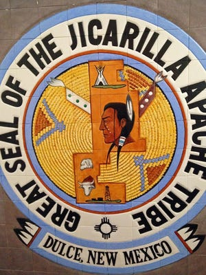 The Great Seal of the Jicarilla Apache Tribe is shown.