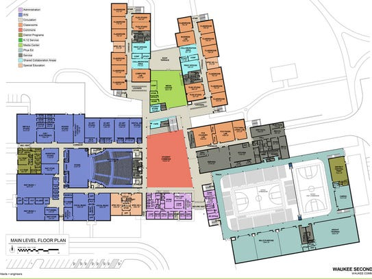 Waukee's second high school will be three stories with