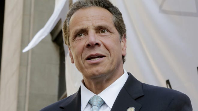 New York Gov. Andrew Cuomo, shown June 1 in New York.