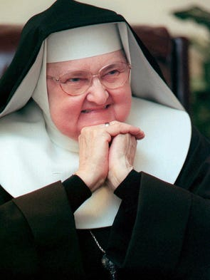 Mother Angelica, shown March 2, 1999, is both Mother