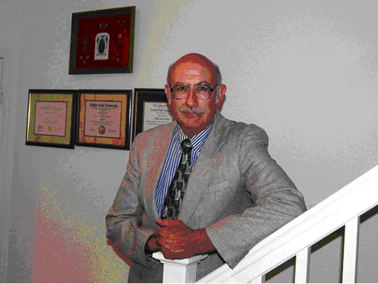 Incoming Treasurer Phillip Molina